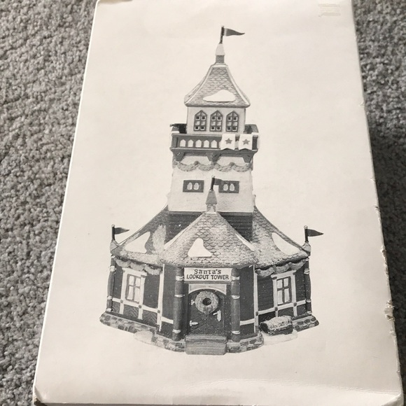 Department 56 Other - North Pole Santa's lookout tower